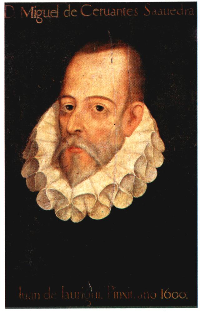 El texto descriptivo - Autorretrato de Miguel de Cervantes