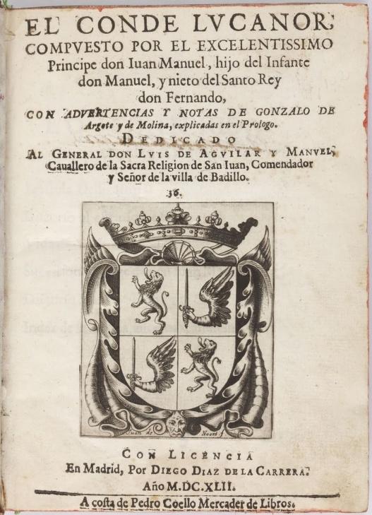 El Conde Lucanor Actividad De Escritura Profevio